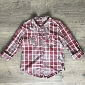 Rubbish button up shirt size small